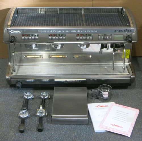 La Cimbali M39 Dosatron DT/3 3 Group Coffee Espresso Cappucino Machine